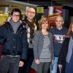 sindaco junior Danilo Ciccolessi, direttore Movieland Gianluca Chiodi, presidente Dante Fabriano Doris Battistoni, regista Giovanni Covini, assessore Patrizia Rossi